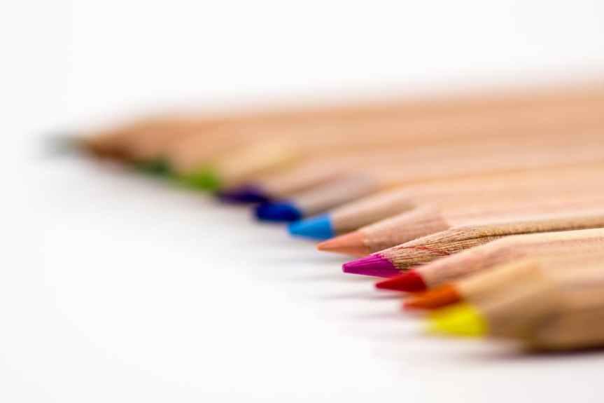 creative desk pens school